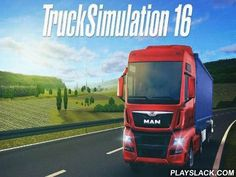 Truck Simulation 16  Android Game - playslack.com , steer a strong truck in Europe conveying  different cargoes to consumers and get awards for your work.