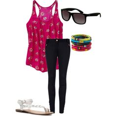 Untitled #10, created by maria-calcei on Polyvore