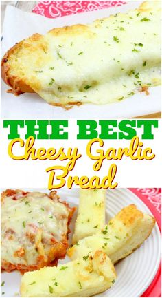 The Best Cheesy Garlic Bread recipe from The Country Cook (with a secret ingredient!)