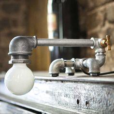 Kozo creates whimsical lamps utilizing galvanized iron - $310
