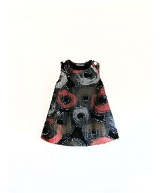 Girl Dress Destroy Grunge black red and grey by GabardineCouture, 48.00