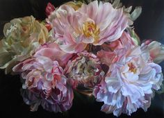 Oli painting  on linen solo exhibition in Perth WA at Greenhill Galleries 2010