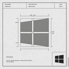 Logo do Windows Logo Design Inspiration, Icon Design, Design Design, Typographic Logo, Typo Logo, Logo Sign, Design Theory, Logo Creation, Geometric Logo