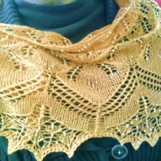 My aeolian shawl