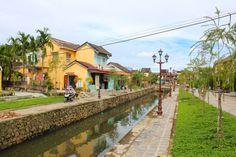 Un petit air de France à Hoi An avec ce joli canal : http://www.iletaitunefaim.com/little-paris/ #voyage #vietnam