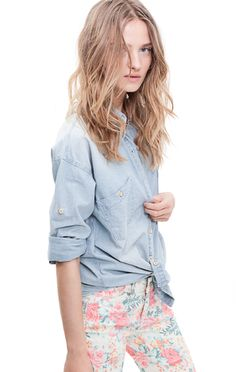 all i want is a nice chambray shirt!
