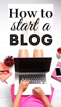The easiest and fastest way to start a website for your online business (from someone who built a multiple six-figure online business). Start A Website, How To Start A Blog, Make Money Blogging, How To Make Money, How To Get, Blogging Ideas, Tips & Tricks, Hacks, Creating A Blog