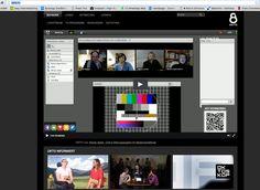 QR-Code um vom TV in die Webkonferenz zu gelangen