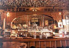 Inspiration für die Bar im Rusty Spur - Bar Ideen Western Saloon, Western Bar, Old West Saloon, Western Decor, Metal Carports Prices, Carport Prices, Carports For Sale, Old Bar, Back Bar