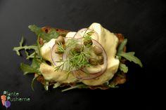 Lad silden svømme - auberginesild i sød, stærk sennepsdressing (oliefri). Smager rigtig godt, men brug halvt så meget sennep. Prøv også at lave en karry version