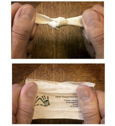 Untie the knots. (Massage therapy... Divorce lawyer? ; ))  #business #card #design