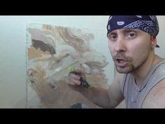 Метод нанесения венецианской штукатурки, который имитирует текстуру мрамора. Подробно рассказываю и показываю сам процесс.