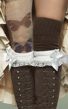Make sure to add lots of brass closures to really get their gears going. | 14 Fashions That Put The Steam In Steampunk