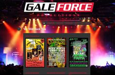 San Diego Website Design - Gale Force Productions - www.usegaleforce.com