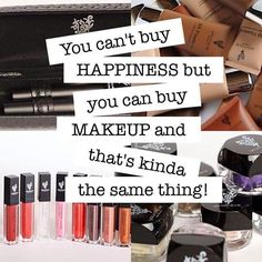 Makeup is Happiness. Get your younique happiness now, you won't regret it. www.youniqueproducts.com/mikaelaabell