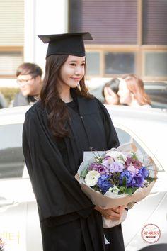 #Yoona #윤아 #ユナ #SNSD #少女時代 #소녀시대 #GirlsGeneration 150224 Graduation from Dongguk University Sosirang