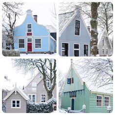 Dorpstuinen in de sneeuw, fotografie:Sietske de Vries