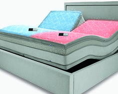 DualTemp™ layer. It's a new degree of sleep. First we individualized your comfort with the SLEEP NUMBER® bed.