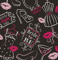 bridal bash napkins
