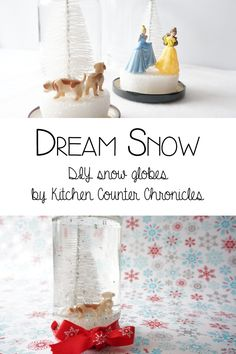 Dream Snow DIY Snow Globes