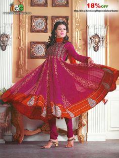 Ravishing Magenta Salwar Kameez