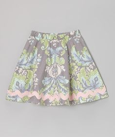 Take a look at this Midnight Lace Girly Twirly Skirt - Toddler & Girls by Pretty Playful on #zulily today!
