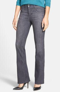 Nordstrom Wit & Wisdom 'Revolution' Stretch Bootcut Jeans (Dark Grey Exclusive) on shopstyle.com