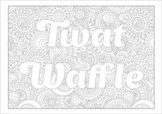10 Best Curse Words Images Coloring Book Coloring Pages Coloring