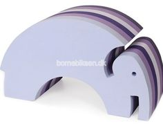 bObles elefant, multi lilla
