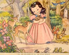 sweet little snow white