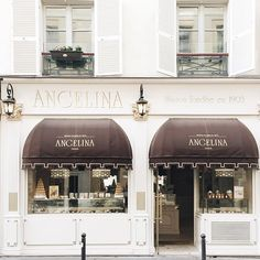 Angelina's in paris....the hot chocolate' is as thick as greek coffee...so delicious ..w  old world charm & ambiance