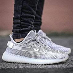 "cb6cb4c20a8 Adidas Yeezy Boost 350 V2 "" static"" on feet Hype Shoes"