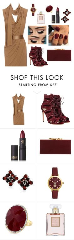 """Hit the club ( again dont forget to read the short segment down in the description)"" by kwkalyn ❤ liked on Polyvore featuring Alexander McQueen, Francesco Russo, Lipstick Queen, Jimmy Choo, Tory Burch, Anne Sisteron and Chanel"