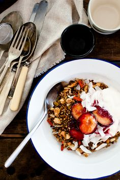 Paleo Friendly Chai spiced Granola
