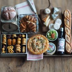 2017.07. Miniature food♡ ♡ By petipetit