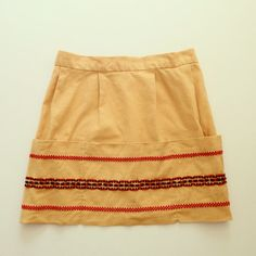 VTG Apron embroidered orange Kids by familythreadla on Etsy, $22.00
