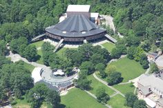 Saratoga Performing Arts Center - View from Afar #SPAC http://www.saratoga.org/visitors