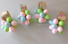 Easter+Eggs+Flower+Napkin+Rings