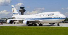 State of Kuwait Boeing 747-8i/BBJ