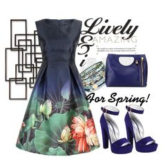 """""""Spring Garden Party"""" by pixidreams ❤ liked on Polyvore featuring Palecek, Prada and Accessorize"""