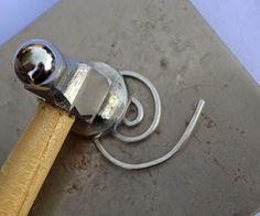 Around Wire and Beads: Spiral Shawl Pin