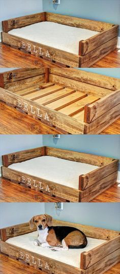 22 New Ideas diy dog kennel furniture coffee tables Pallet Dog House, Pallet Dog Beds, Dog Bed From Pallets, Diy Pallet, Pallet Projects, Building A Dog Kennel, Diy Dog Kennel, Kennel Ideas, Wood Dog Bed