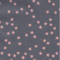 Enduit mat gris nuée d'étoiles roses France Duval Stalla