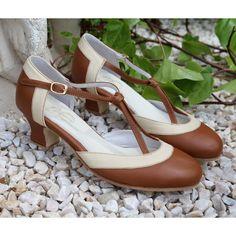 Chaussure de Lindy Hop et Balboa vintage