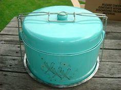 aqua cake carrier