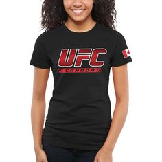 UFC Women's Great North Too T-Shirt - Black - $19.99