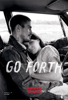 """Levi's """"Go Forth"""" Ready To Work campaign - print ad."""