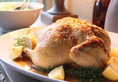 Mitford meal Cynthias Roasted Chicken