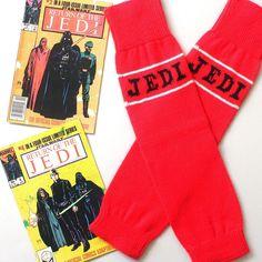 Women's vintage Star Wars Return Of The Jedi knitted leg warmers ⭐️ Star Wars fashion ⭐️ Geek Fashion ⭐️ Star Wars Style ⭐️ Geek Chic ⭐️