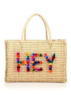 NANNACAY Hey Maldives Tote. #nannacay #bags #hand bags #tote #